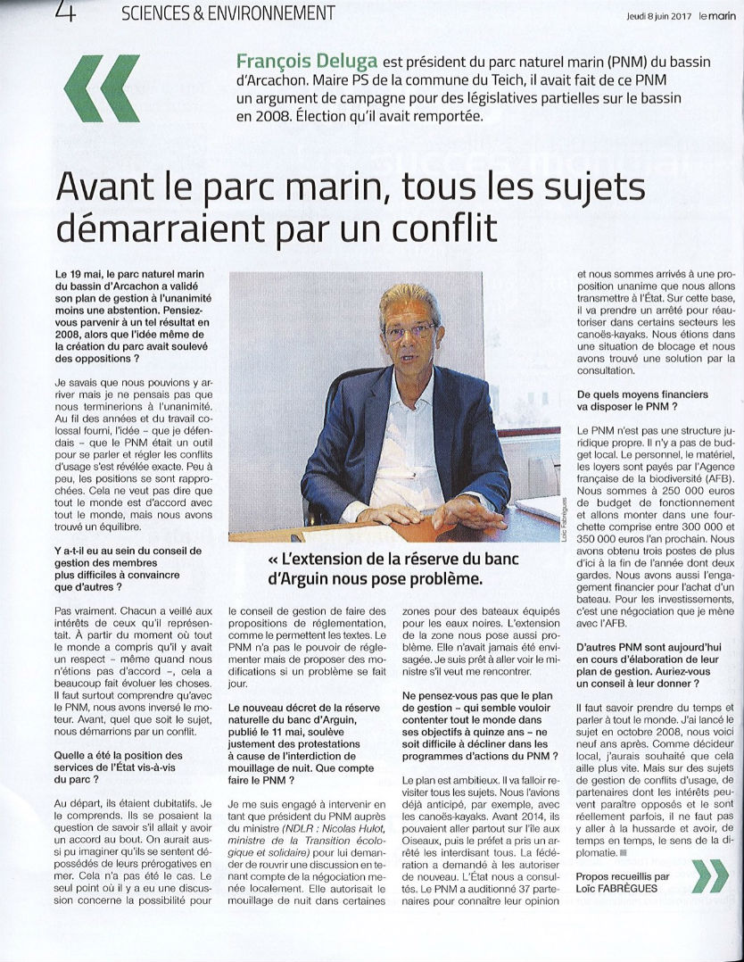 Article du Marin